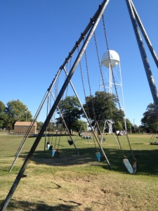 Old park in north Pawhuska, Osage County, Oklahoma